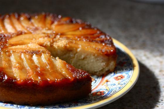 Test Kitchen Upside Down Pear Cake