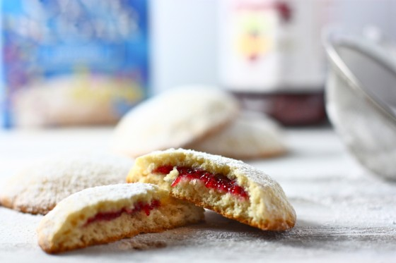 Soft White Filled Cookies Eat Live Run
