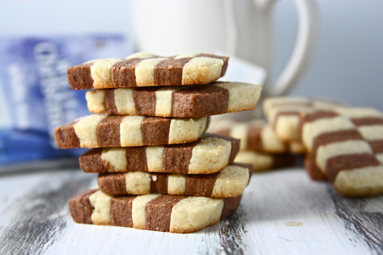 Fancy Slice N Bake Checkerboard Cookies Eat Live Run