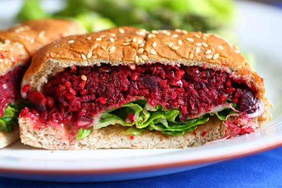 Plant Burgers Eat Live Run