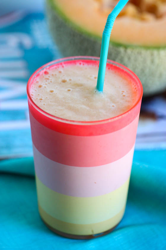 Cool N Creamy Cantaloupe Smoothies Eat Live Run All reviews for cantaloupe smoothie. eat live run