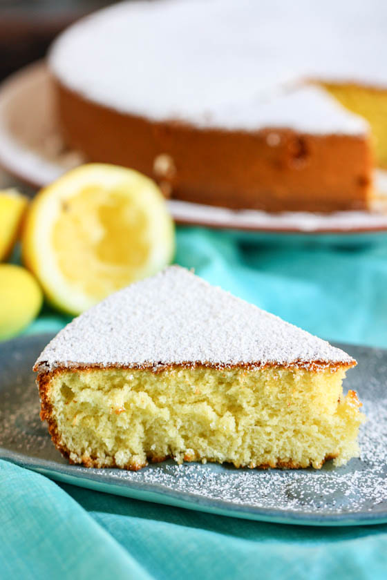 Lemon Olive Oil Cake Eat Live Run