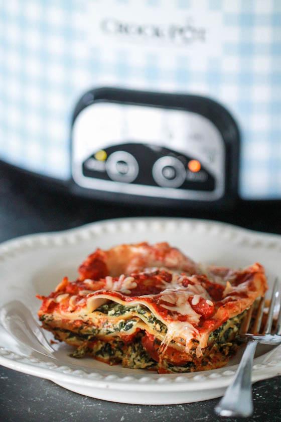 Crock Pot Spinach Lasagna Eat Live Run