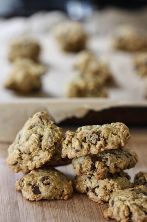 Chocolate Chip Pistachio Breakfast Cookies - Eat, Live, Run