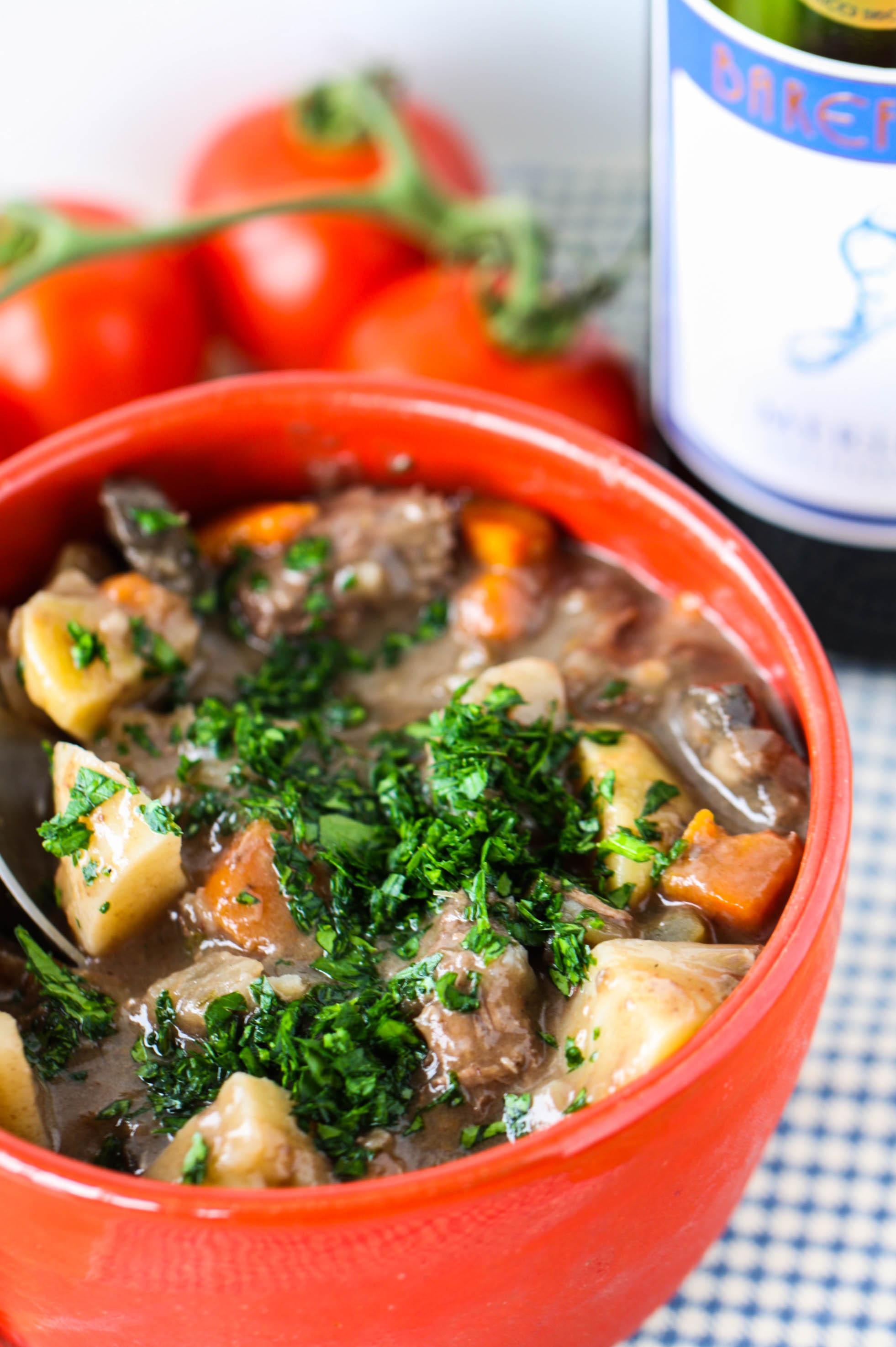 Beef Stew With Merlot Eat Live Run